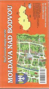 Moldava nad Bodvou - ručne maľovaná mapa