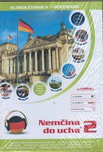 Nemčina do ucha 2. diel 4CD/CD-ROM, text.