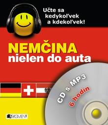 Nemčina nielen do auta – CD s MP3