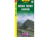 Nízké Tatry, Chopok 1:50.000 Turistická mapa