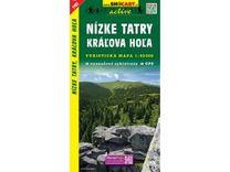 Nízke Tatry, Kráľova Hoľa 1:50.000 Turistická mapa