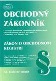 Obchodný zákonník / Zákon o obchodnom registri XI. polnené vydanie