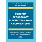 Odborná spôsobilosť elektrotechnikov a podnikateľov
