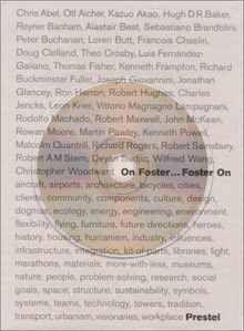 On Foster...Foster on (Architecture) (Hardcover)