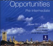 Opportunities Pre-Intermediate Global Class CD 1-3 CD-Audio