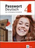 Passwort Deutsch 4 Kurs-und Übungsbuch mit Aidio-CD A2-B1
