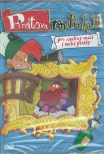 Pirátova rodinka 3 DVD