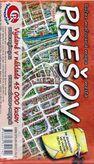 Prešov - ručne maľovaná mapa