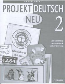 Projekt Deutsch Neu 2 Arbaitsheft