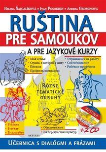 Ruština pre samoukov a jazykové kurzy + 2 CD