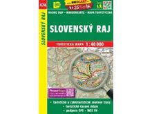 Slovenský ráj 1:40.000 Turistická mapa