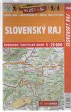 Slovenský Raj 704 podrobná turistická mapa