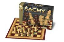 Společenská hra Šachy dřevěné