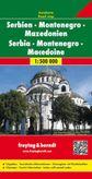 Srbsko-Čierna Hora automapa 1 : 500 000