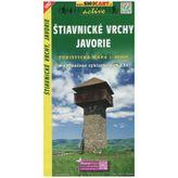 Štiavnické vrchy, Javorie 1:50 000 Turistická mapa