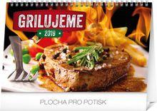 Stolový kalendár Grilujeme SK 2019 , 23,1 x 14,5 cm