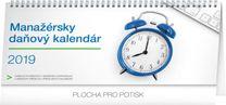 Stolový kalendár Manažérsky daňový SK 2019, 33 x 14,5 cm
