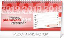 Stolový kalendár Plánovací riadkový SK 2019, 25 x 12,5 cm
