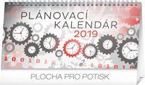 Stolový kalendár Plánovací SK 2019, 25 x 12,5 cm