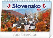 Stolový kalendár Slovensko 2019 SK, 23,1 x 14,5 cm