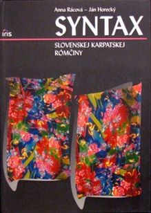 Syntax slovenskej karpatskej rómčiny