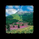 Tatry(Vysoké, Západné, Nízke, Belianske) - Nástenný kalendár 2019
