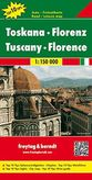 Toskánsko/Florenia - Toskana/Florenz automapa 1 : 150 000
