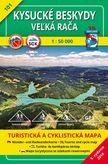 Turistická mapa 101 Kysucké Beskydy – Veľká Rača 1 : 50 000