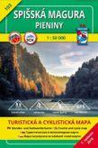 Turistická mapa 103 Spišská Magura - Pieniny 1: 50 000