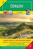 Turistická mapa 104 Čergov 1 : 50 000