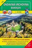 Turistická mapa 105 Ondavská vrchovina - Bardejov 1 : 50000