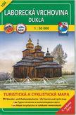 Turistická mapa 106 Laborecká vrchovina - Dukla 1 : 50 000