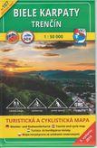 Turistická mapa 107 Biele Karpaty - Trenčín