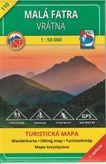 Turistická mapa 110 Malá Fatra - Vrátna
