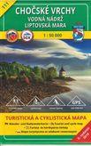 Turistická mapa 111 Chočské vrchy (Vodná nádrž Liptovská Mara) 1 : 50 000