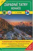 Turistická mapa 112 Západné Tatry - Roháče 1: 50 000