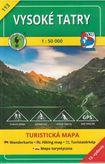 Turistická mapa 113 Vysoké Tatry 1 : 50 000