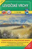 Turistická mapa 114 Levočské vrchy 1 : 50 000