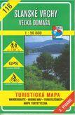 Turistická mapa 116 Slánske vrchy - Veľká Domaša 1:50 000