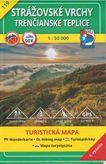 Turistická mapa 119 Strážovské vrchy - Trenčianske Teplice 1:50 000