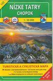 Turistická mapa 122 Nízke Tatry - Chopok 1 : 50 000