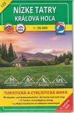 Turistická mapa 123 Nízke Tatry - Kráľova hoľa 1 : 50 000