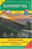 Turistická mapa 124 Slovenský raj 1 : 50 000