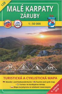 Turistická mapa 128 Malé karpaty - Záruby 1 : 50 000