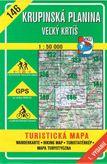 Turistická mapa 146 Krupinská planina - Veľký Krtíš 1 : 50 000