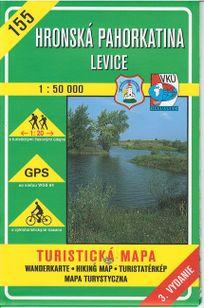 Turistická mapa 155 Hronská pahorkatina - Levice 1 : 50 000