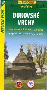 Turistická mapa Bukovské vrchy 1 : 50 000