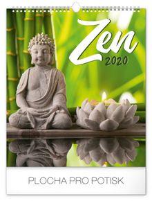 Nástenný kalendár Zen 2020, 30 x 34 cm