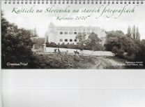 Stolový kalendár - Kaštiele na Slovensku na starých fotografiách 2020