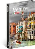 Týždenný magnetický diár Benátky 2019, 10,5 x 15,8 cm